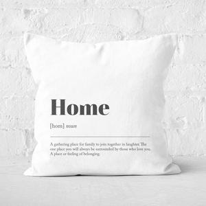 Home Definition Square Cushion