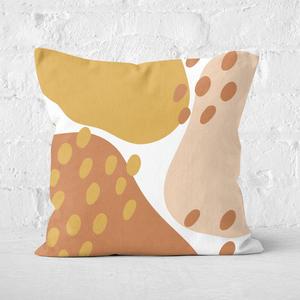 Autumn Spots Square Cushion