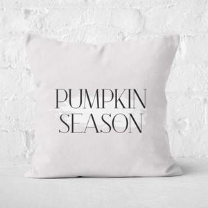 Pumpkin Season Square Cushion