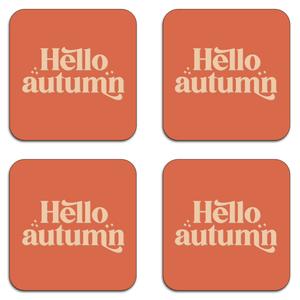 Hello Autumn Coaster Set