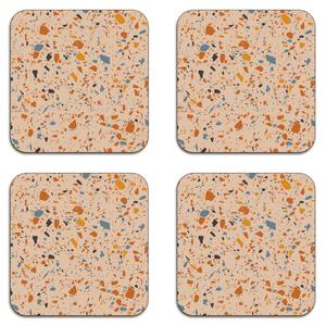Autumn Terrazzo Coaster Set
