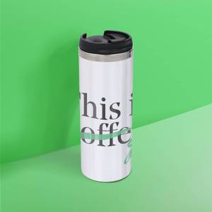 This Is Coffee Stainless Steel Thermo Travel Mug