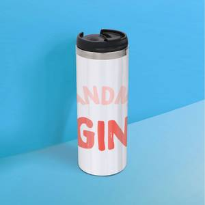 Grandma's Gin Stainless Steel Thermo Travel Mug