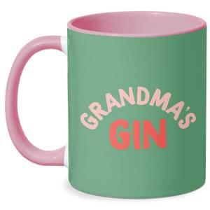 Grandma's Gin Mug - White/Pink