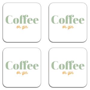 Coffee Or Gin Coaster Set
