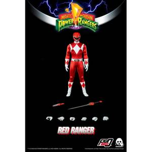 ThreeZero Power Rangers Red Ranger 1:6 Scale Figure
