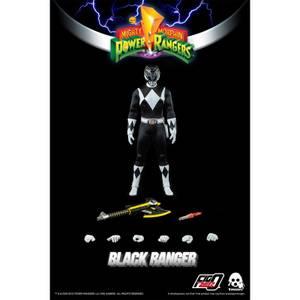 ThreeZero Power Rangers Black Ranger 1:6 Scale Figure