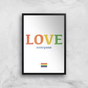 Love Everyone Giclee Art Print