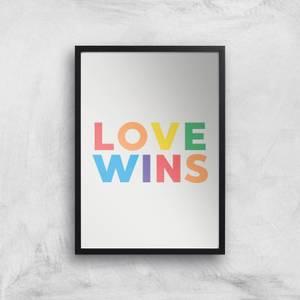 Love Wins Giclee Art Print