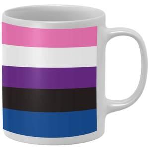 Genderfluid Flag Mug