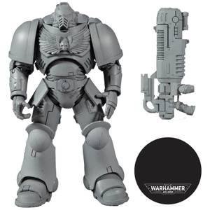 """McFarlane Toys Warhammer 40K 7"""" Figures Wv2 - Primaris Space Marine Hellblaster (Ap) Action Figure"""