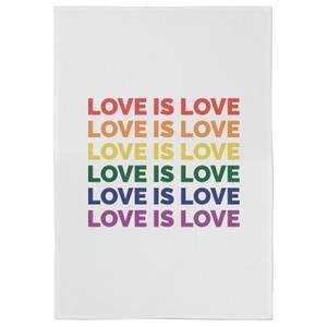 Love Is Love Cotton Tea Towel