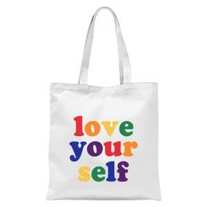 Love Yourself Tote Bag - White