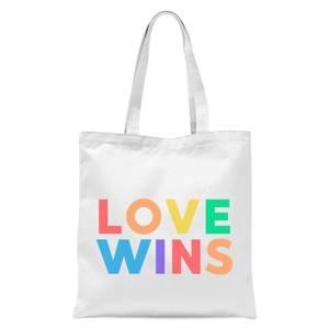 Love Wins Tote Bag - White