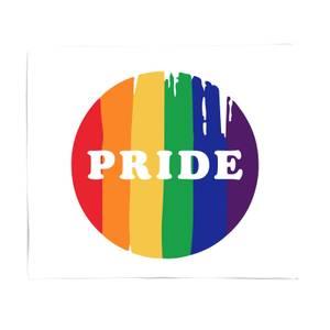 Pride Badge Fleece Blanket