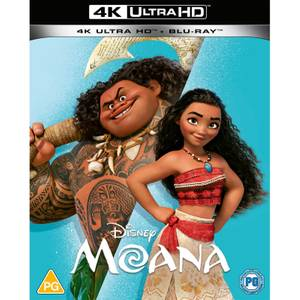 Disney Moana - 4K Ultra HD (Blu-ray inclus)