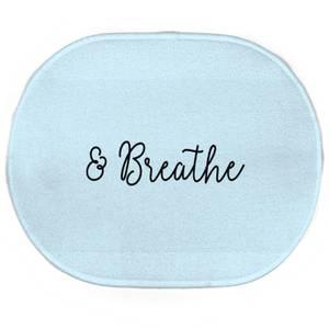 & Breathe Oval Bath Mat