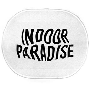 Earth Friendly Indoor Paradise Oval Bath Mat