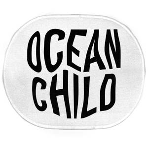Earth Friendly Ocean Child Oval Bath Mat