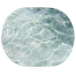 Earth Friendly Sea Water Oval Bath Mat