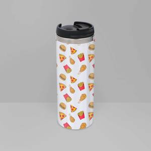 Fast Food Stainless Steel Thermo Travel Mug