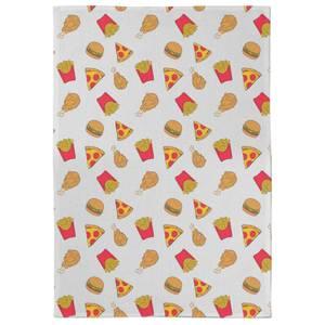 Fast Food Tea Towel