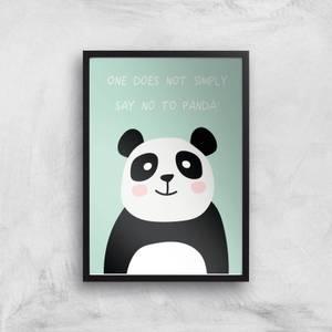 Panda Meme Giclee Art Print