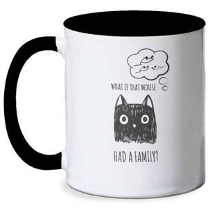 Cat Meme Mug - White/Black