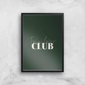 Tofu Lover Club Giclee Art Print