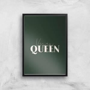 Vegan Queen Giclee Art Print