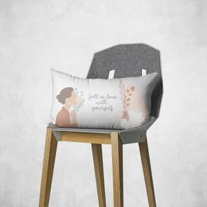 Fall In Love With Yourself Rectangular Cushion
