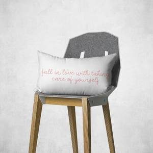 Fall In Love With Taking Care Of Yourself Rectangular Cushion