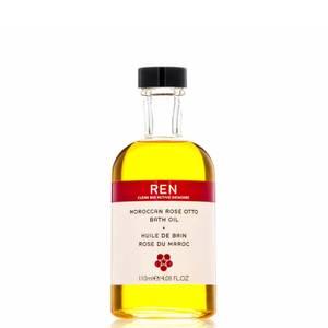 REN Clean Skincare Moroccan Rose Otto Bath Oil 110ml