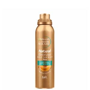 Ambre Solaire Natural Bronzer Quick Drying Light Self Tan Face Mist 75ml