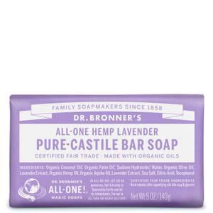 Dr Bronner's Pure Castile Bar Soap Lavender 140g