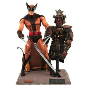 Diamond Select Marvel Select Action Figure - Wolverine (Brown Costume)