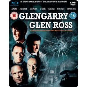 Glengarry Glen Ross - Steelbook Edition (Blu-Ray and DVD)