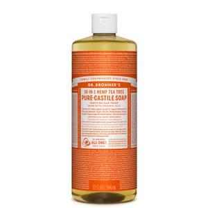 Dr Bronner's Pure Castile Liquid Soap Tea Tree 946ml