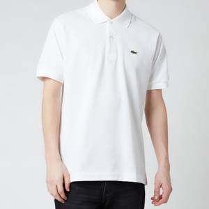 Lacoste Men's Classic Fit Pique Polo Shirt - White