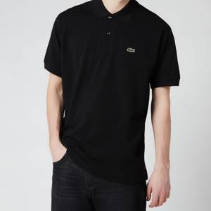 Lacoste Men's Classic Fit Pique Polo Shirt - Black