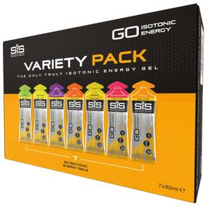 Science in Sport 7 Pack Variety Isotonic Gels- Trade Outer of 16 Packs - Mixed
