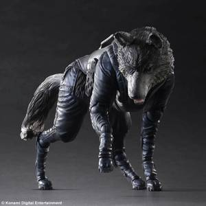 Square Enix Metal Gear Solid V The Phantom Pain D-Dog Play Arts Kai Figure