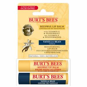 Beeswax and Vanilla Bean Lip Duo Value Pack