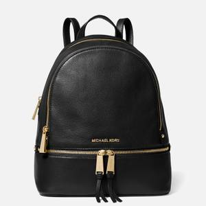 MICHAEL Michael Kors Women's Rhea Zip Medium Backpack - Black