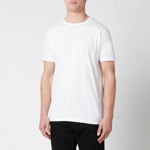 Edwin Men's Double Pack Short Sleeve T-Shirt - White