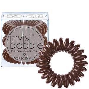 invisibobble Original Hair Tie (3 Pack) - Pretzel Brown