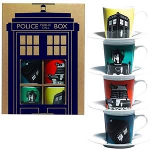 Dr Who Espresso Set