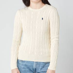 Polo Ralph Lauren Women's Julianna Crew Neck Jumper - Cream