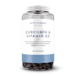 Capsule di Curcumina e Vitamina D3