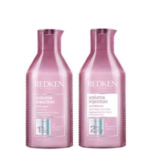 Redken Volume Injection Shampoo (300ml) & Volume Injection Conditioner (250ml)